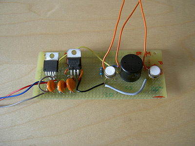 Three sensors integrated into one board
