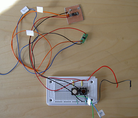 Buttons, temperature and humidity sensor