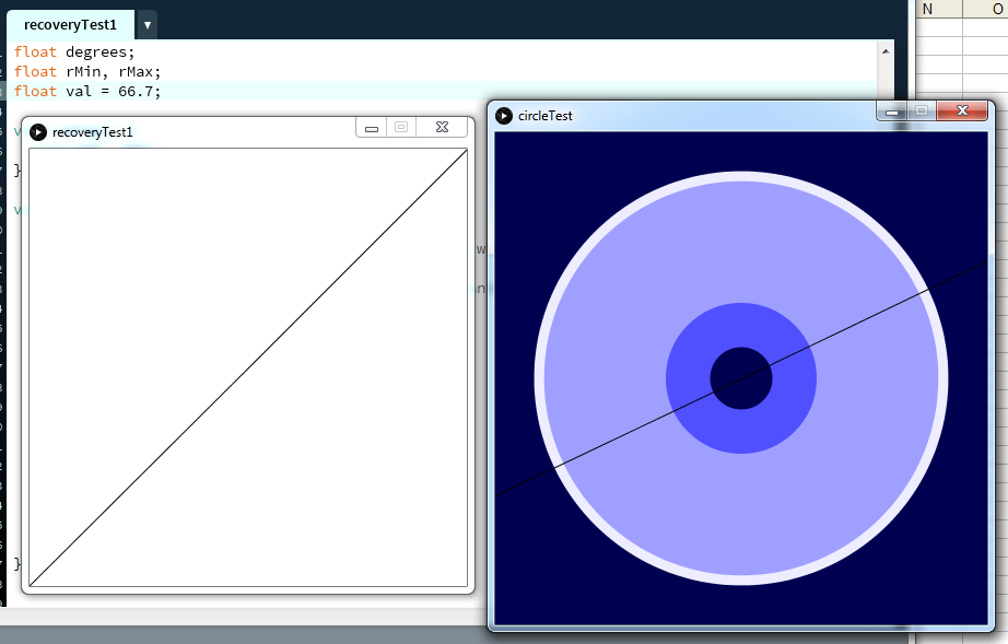 Integrating with circle visualisations.