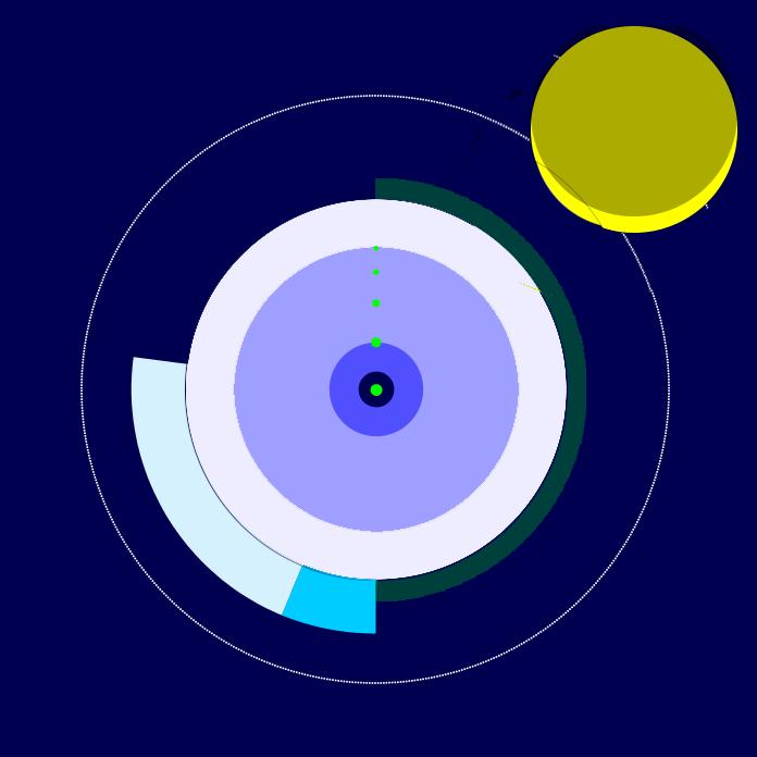 The final night design (rating still in green)