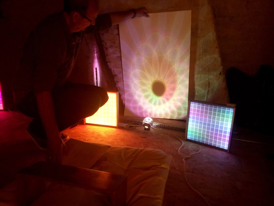 testing the influence of light - with Tom Bergman from Philips