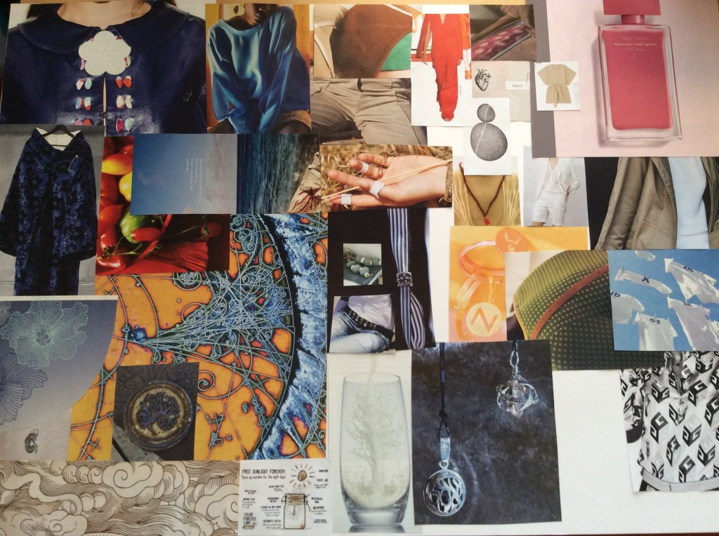 mood board - organising thoughts about the design