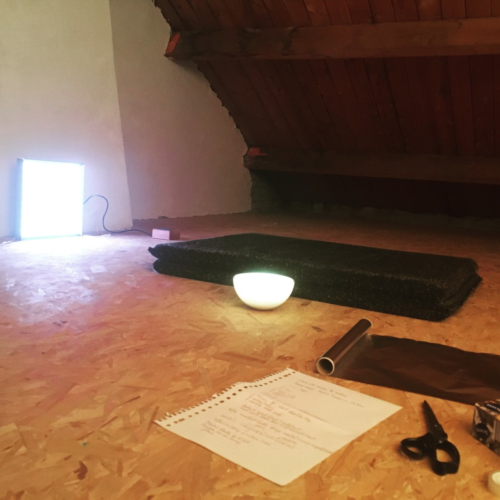 Building a meditation lab in my attic